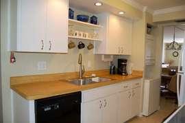 Kitchen with washer & dryer