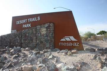 Mesa parks have all levels of trails for avid hikers, bikers and equestrians