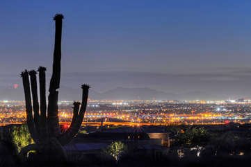 Sensational sunsets accentuate our famous city lights and mountain views