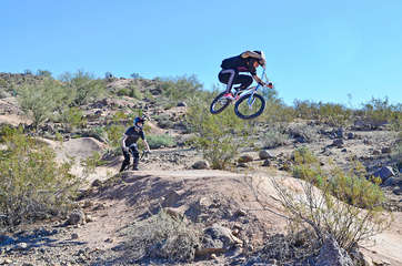 Nearby trails for hiking and biking appeal to locals and visitors from near and far
