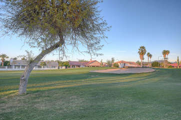 Home fronts Painted Mountain Golf Course and has spectacular fairway views