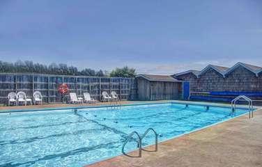 Seasonal swimming available at the Bayshore.