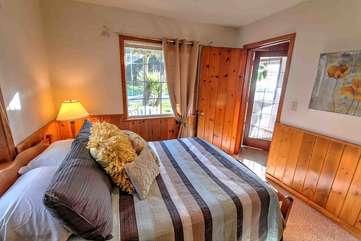 Quiet classic wood paneled comfort.