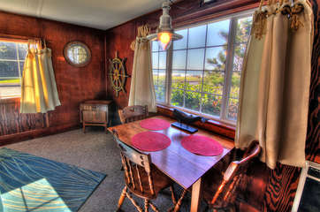 This charming cottage is a Yachats landmark.