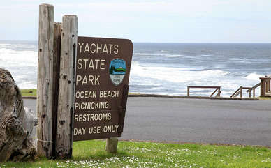 Just a short walk to one of the Oregon coasts most beautiful State Parks