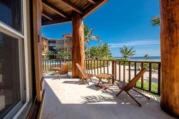 Indigo Belize 1A Beach Front View