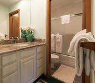 Master Bathroom #2- En-suite Full Bathroom- Downstairs