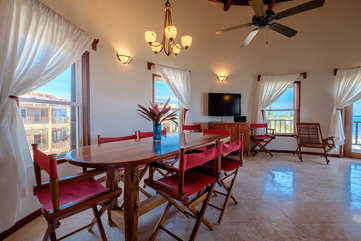 Indigo Belize 1C Dining Room