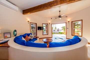 Indigo Belize 1A  Living Room