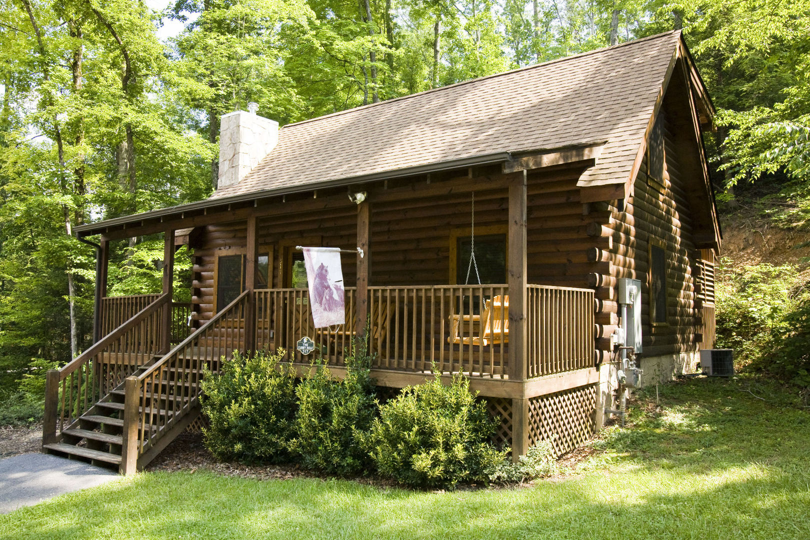 valley in vista attachment tn wears forge of pinnacle cabin picture cabins sets bedroom pigeon