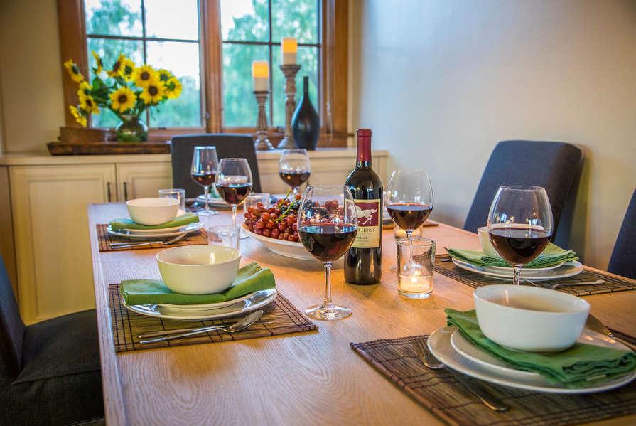 Enjoy a nice family dinner!