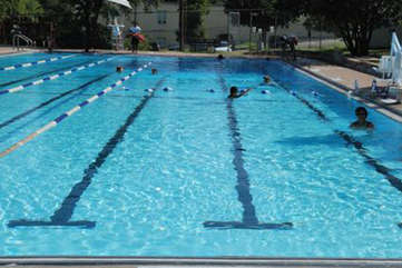 Don't miss Stacy Pool neighborhood pool is close by. Cool, refreshing, beautiful, and free. Did we mention it's free?