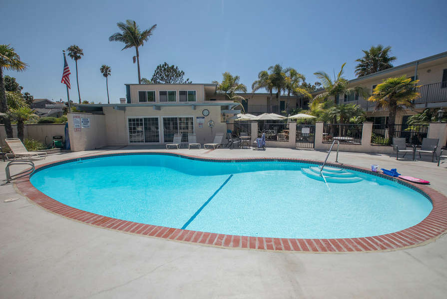 Take a dip in the community pool