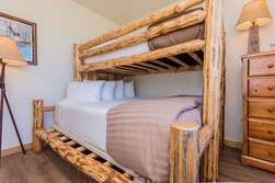 Guest Bedroom- Bunk Bed (Queen On-Bottom, Long Twin On-Top)