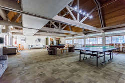 Game Room Just steps from Unit #70- Pool, Foose ball and ping pong