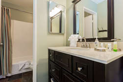 Bathroom- Shower and Tub
