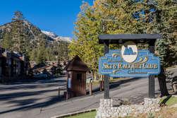 Main Entrance To Mammoth Ski and Raquet Club