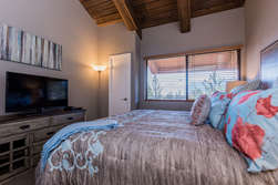 Master Bedroom- Upstairs-California King Bed-Flat Screen TV