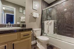 Bathroom #2-Upstairs- Tub and Shower
