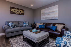 Living Room-Gas Fireplace-Queen Sleeper Sofa- Flat Screen TV + Smart Blue Ray Player- Dining Table for 6