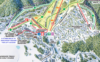 Lift Access Map
