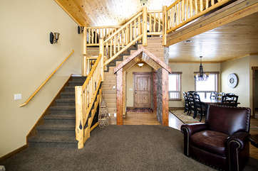 Living room entry way