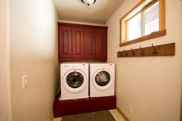 Entry way washer & dryer