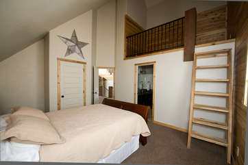 Upstairs 2nd bedroom, different view