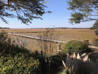 The community dock is a special amenity perfect for catching glimpses of Seabrook Island wildlife.
